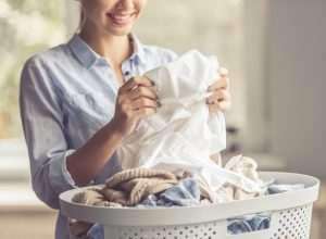 water softening helps laundry