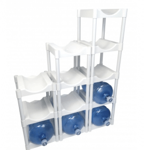 Stackable Bottle Storage
